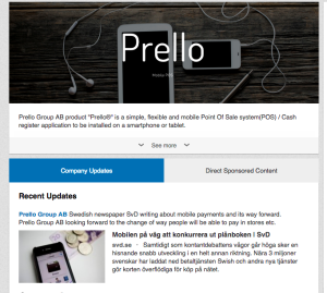 Prello Group AB LinkedIn