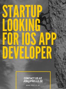 iOS utvecklare